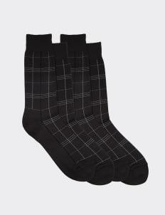 Gunze Gray 10310 Socks