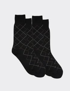 Gunze Black DA241 Socks