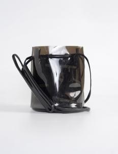 Scissors Paper Rock Black J04-BUCK'IST Bucket Bag