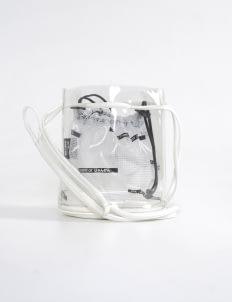 Scissors Paper Rock White J04-BUCK'IST Bucket Bag