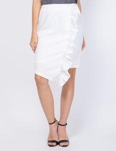 KOMMA White Claudy Skirt