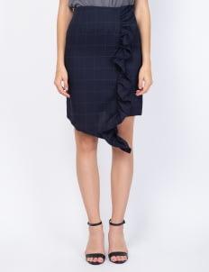 KOMMA Black Claudy Skirt