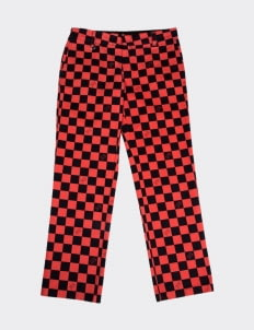 Public Culture Red Checkered Pants