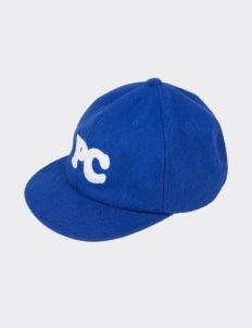 Public Culture Blue Initial Baseball Cap