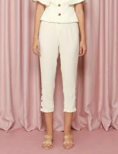CDC The Label White Elysian Pants