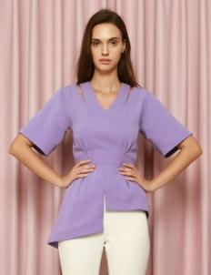 CDC The Label Lavender Zephyr Top
