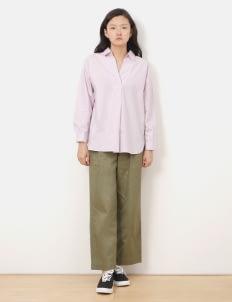 American Holic by Stripe Japan Lavender Margot V Neck Shirt