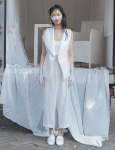 Amanda Rahardjo White Maverick Vest