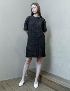 Day and Night Black Fogo Dress