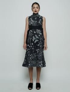 Oemah Etnik Black Kanawa Batik Dress
