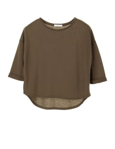 American Holic by Stripe Japan Khaki Avenna Blouse
