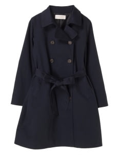 Green Parks by Stripe Japan Navy Roome Coat