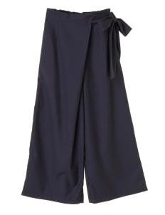 American Holic by Stripe Japan Yuko Wide Pants - Navy