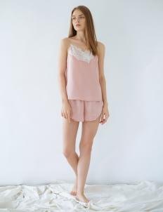 Harper House Charlotte Cami Set - Pink