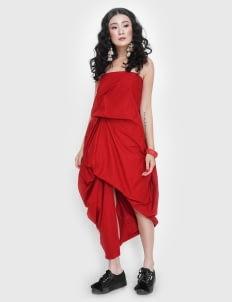 Novere Jelena Dress - Red