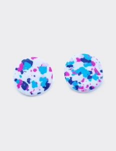 Mita Jewelry Freckles Studs Earrings - White