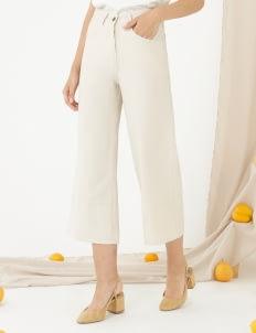 CLOTH INC Ed Culottes - Creme