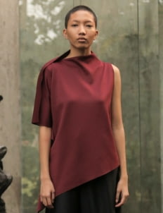 Avgal Collection Made Day 07 Top - Maroon