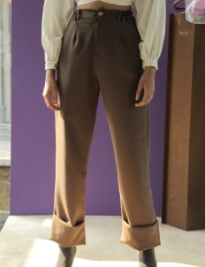 Avgal Collection Thea Pants - Coffee