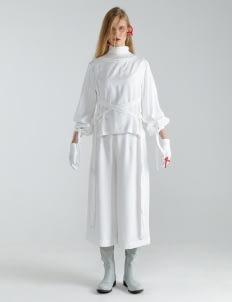 Mera Mera Studio Eshe X Blouse - White