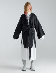 Mera Mera Studio Amani Kimono Coat - Black