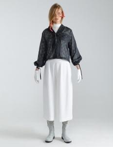 Mera Mera Studio Tartan Nayma Rope Shirt - Black