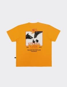 POSHBRAIN Talking Heads T-Shirt - Mustard