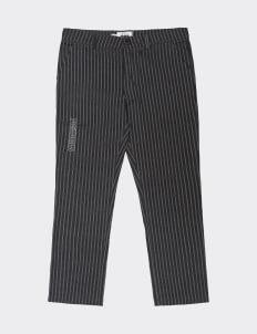 POSHBRAIN Bars Regular Pants - Gray