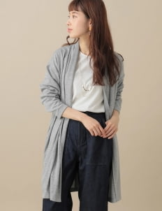 Green Parks by Stripe Japan Valeska Top Set - Gray