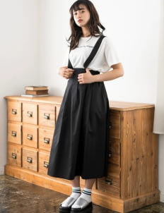 E-hyphen World Gallery by Stripe Japan Erina Dress - Black