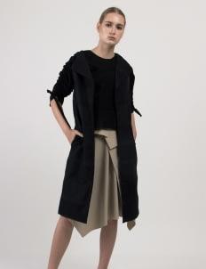Leux Studio Herriet Coat - Black