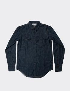 Saint Laurent Blue RTW Woven Shirt