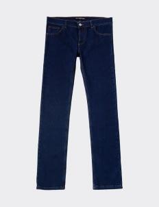 BALENCIAGA Blue Button Fly Jeans