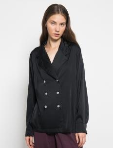 Henrixa Jazzy Shirt - Black