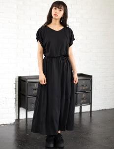 E-hyphen World Gallery by Stripe Japan Shuko Dress - Black