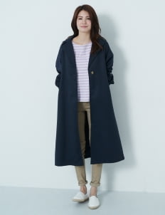 Earth, Music & Ecology by Stripe Japan Fuyumi Coat - Navy