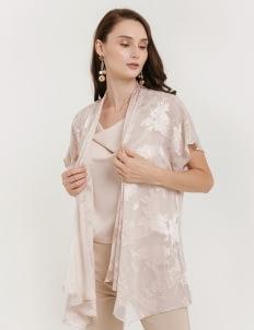 CLOTH INC Luca Silk Outer - Blush