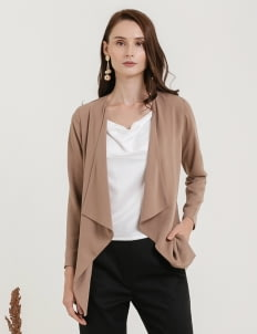 CLOTH INC Basic Drapery Outer - Brown