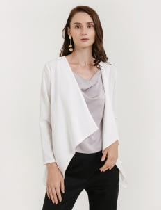 CLOTH INC Basic Drapery Outer - White