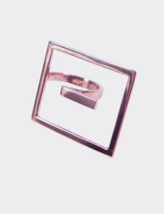 Verso Aggie Ring - Rose Gold