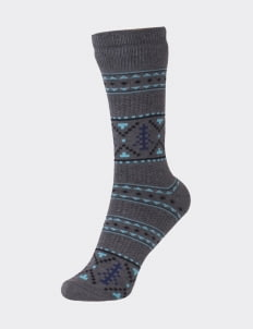 Pattent Goods Tanne Socks - Gray