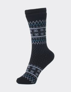 Pattent Goods Arkie Socks - Black