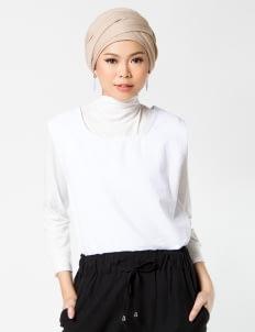 Sayee Byul Sleeveless Top & Pants Set - White