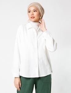 Sayee Byul Linen Shirt - White