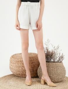 CLOTH INC Dorene Shorts - White