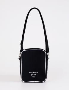 suddenly good life ##/02 Sling Bag - Black