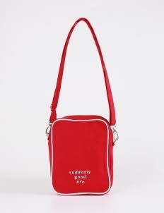 suddenly good life ##/02 Sling Bag - Red