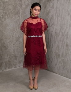 Jove Official Coco Dress - Red