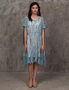 Jove Official Zoey Dress - Blue