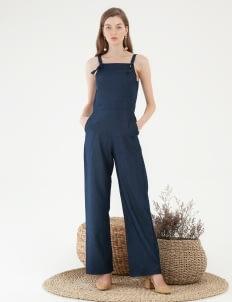 CLOTH INC Denim Overall - Navy